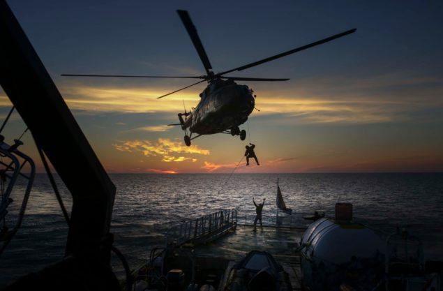 захват судна российскими спецслужбами