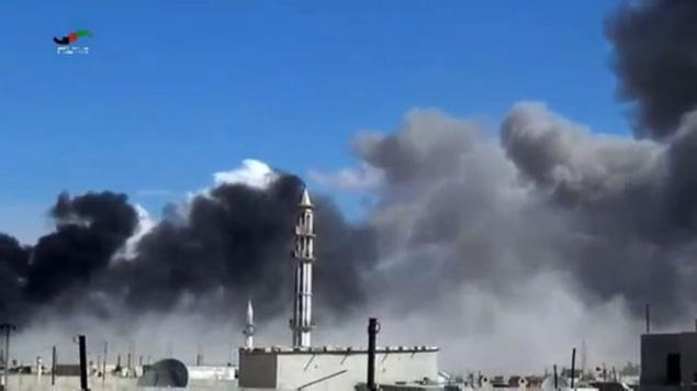 Гибридный стиль военных операций РФ в Сирии, на фоне опасений США