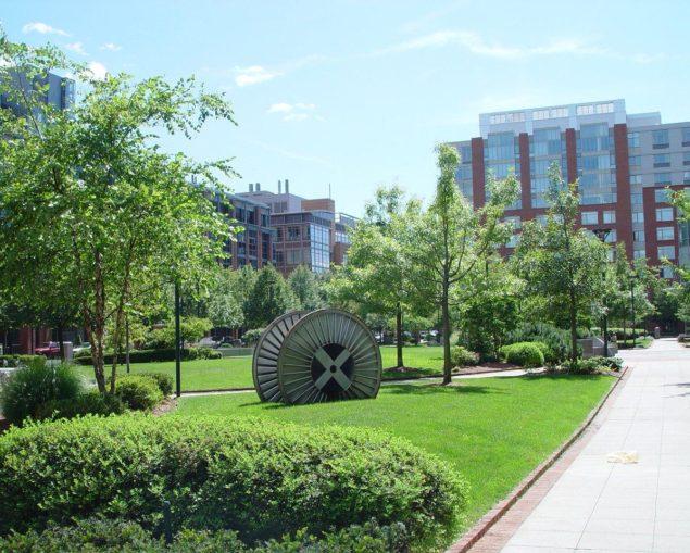 У парку університетського містечка МТІ (2006).