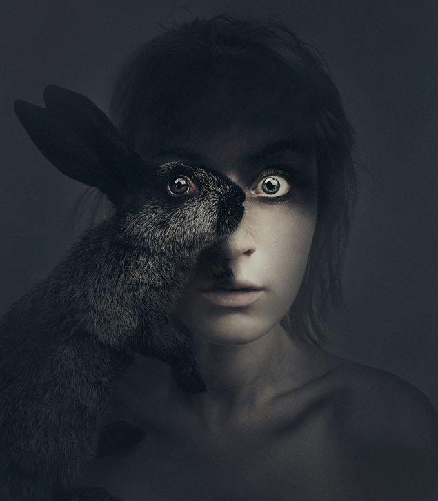 Флора Борсі і заєць