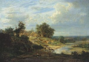 Олександр Кисельов (1875). Вид околиць Харкова.