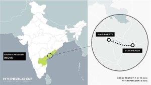 Індія хоче свій власний, 27-мильний Hyperloop (Гіперпетлю)