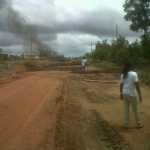 Ituni Residents Block Roads