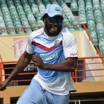 Chris Gayle marks cricket milestone in Guyana