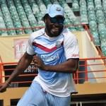 Chris Gayle marks cricket milestone in Guyana