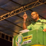 Solomon calls on Guyanese to be wise and Get up and Vote for Change