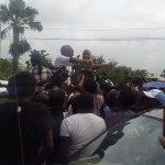 Granger rescues confrontational Kwame McCoy from hostile crowd outside polling station