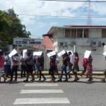 PPP pickets GECOM headquarters over concerns about local government elections