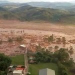 Brazil dam burst engulfs homes in Minas Gerais