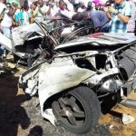 Fiery Berbice car crash kills two persons