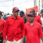Rohee booed by public servants as he lashes out against government at Labour Day rally
