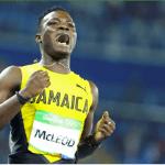 Jamaica's Omar McLeod wins 110m hurdles Gold