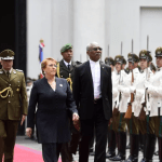 "Guyana and Chile ""strengthen friendship"" as President Granger begins state visit"