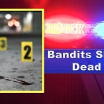 Two Bandits shot dead by Police after robbing guests at Holiday gathering