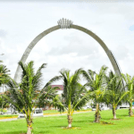East Coast Independence arch showcases Caribbean's ties