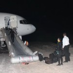 "Fly Jamaica plane had ""door closing problems"" before take off   -Passengers"
