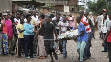credit: bbc.com Bodies have been found in several districts of the capital