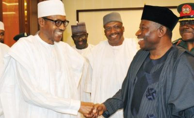 Buhari and jonathan e1464648620230 - 2015 Election: I will continue to hold Jonathan in high esteem, says Buhari