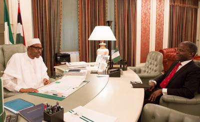 Buhari Res - How Buhari, Osinbajo collaborates to take decisions during President's vacation