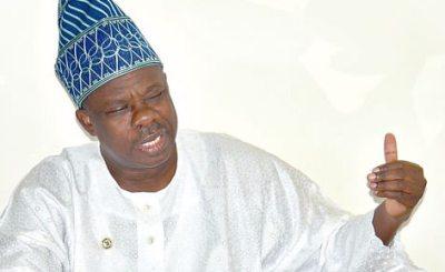 ibikunle amosun - Oshiomhole ,Tinubu, Osoba conspire to fake result of party primaries in Ogun - Amosun