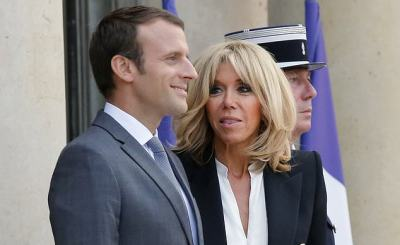 macron2 - French president Macron wants to give a role to his wife