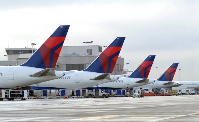 Delta air lines 001 - Delta Air Lines to place firm order for 100 Airbus jets