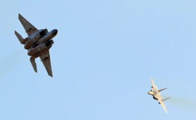 Israel Says Strikes Iranian Targets In Syria
