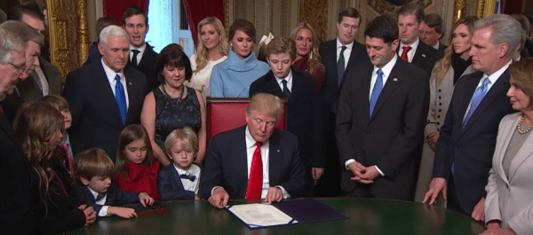 High energy! President Donald Trump's big first week