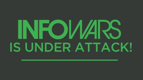 InfoWars DOWN! Alex Jones issues red alert: Coordinated ...