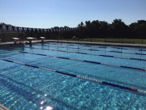 the 50 meter pool at the Upper Main Line Y