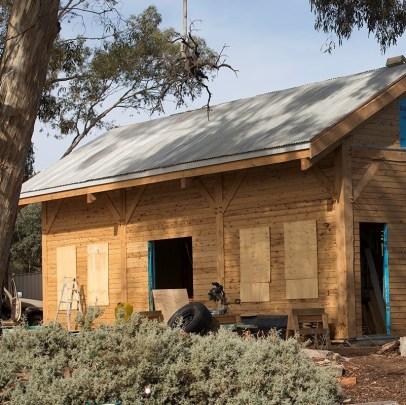 Lachie Park's hand-built studio