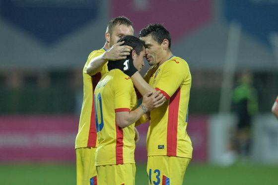 Romania-Lituania 1-0. Gol Pușcaș în minutul 7