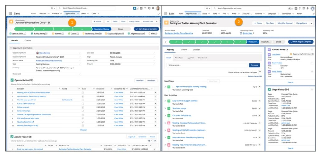 Choose from Two Record View Options Salesforce Summer 19