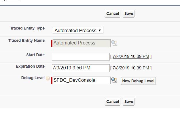Debug log for Change Data Capture and asynchronous Apex trigger