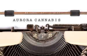 A publicity photo for Aurora Cannabis Inc. Photo: Twitter Trends 2019