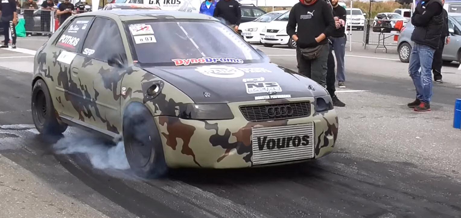 Αυτό Είναι Το Πιο Γρήγορο Audi Στον Κόσμο Και Είναι Ελληνικό -1.290 Ίππους Και 128 Κιλά Ροπή