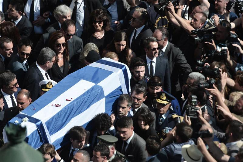 Αθάνατος! Η Ελλάδα απηύθυνε το ύστατο χαίρε στον Κωνσταντίνο Μητσοτάκη