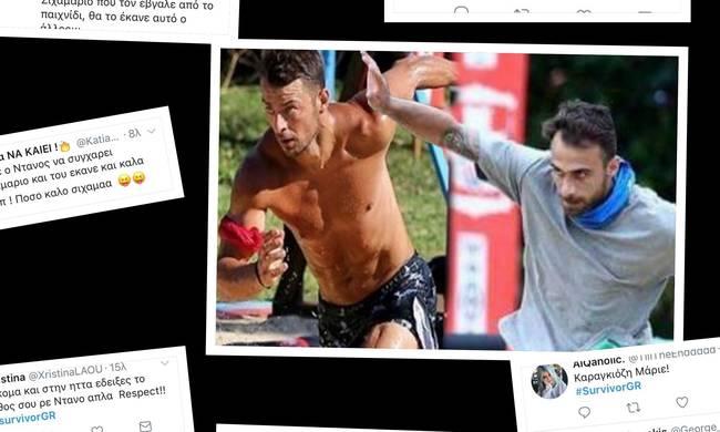 SURVIVOR: Ο κακός χαμός με Μάριο και Ντάνο-Απίστευτη επίθεση στον Κύπριο παίκτη: «Σίχαμα, σκουπίδι…»