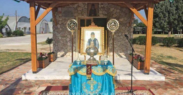 Έτοιμος ο ναός που έχτισαν οι φαντάροι για τον Άγιο Παΐσιο!
