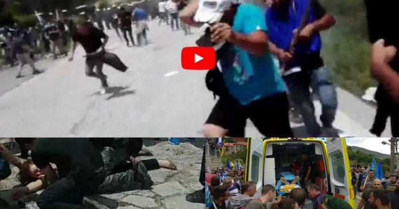 ΣΟΚ: Διαδηλώτρια τραυματίστηκε βαριά στο κεφάλι από αστυνομικούς στο Πισοδέρι! Αυτο που έκανε ο αστυνομικός μας σόκαρε!!