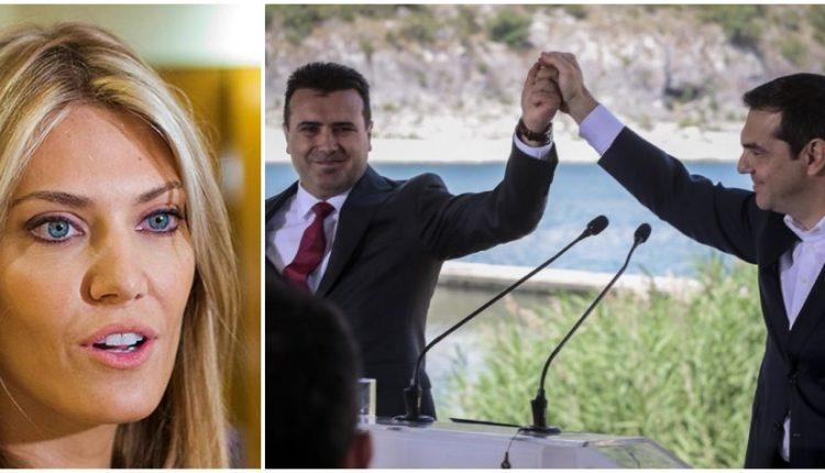 Αστραψε και βρόντηξε η Εύα Καϊλή: «Ντρέπομαι, Το Βόρεια μακεδονία είναι ανεπανόρθωτη ζημιά»
