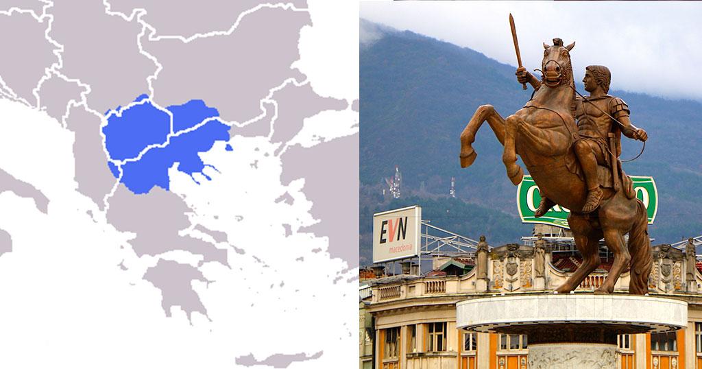 Τo Βικιπαίδεια παρουσιάζει την Μακεδονία ως Σκοπιανή αλλά και Βουλγαρική