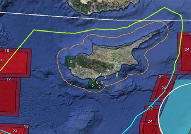 Η Μόσχα «κλείδωσε» σχεδόν όλη την Ανατολική Μεσόγειο – Με 15 Notam και 7 Navtex αντιδρά η Ρωσία