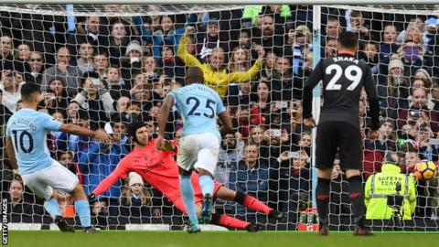 Man City outclass Arsenal to open up eight-point lead 16