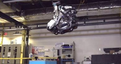 Boston Dynamics Robot Is Done Being Pushed Around, Learns to do a Backflip 3