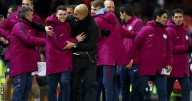 Man City celebrations 'not to blame' for derby row 3