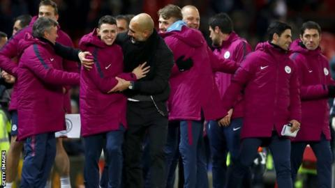 Man City celebrations 'not to blame' for derby row 16