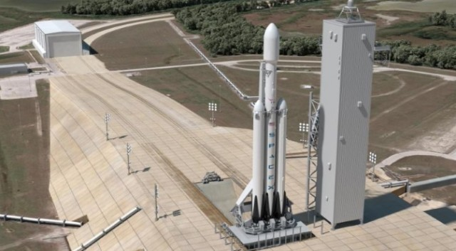 SpaceX Falcon Heavy Launch Slips to 2018 5