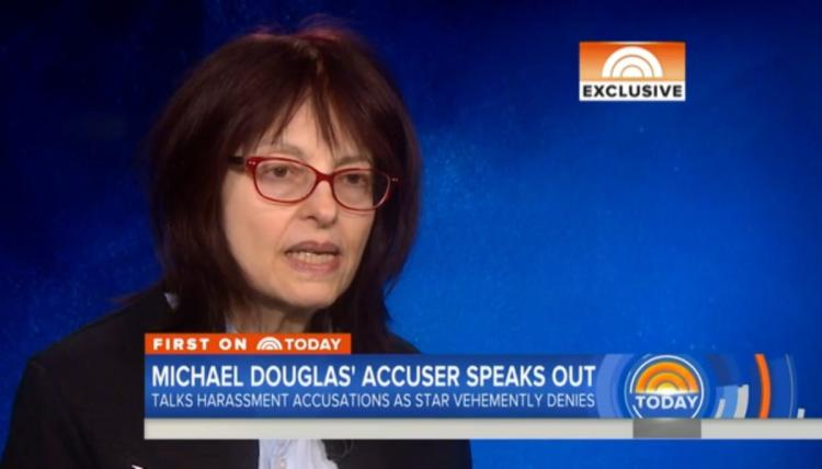 Michael Douglas accuser says friend advised her not to speak out 7