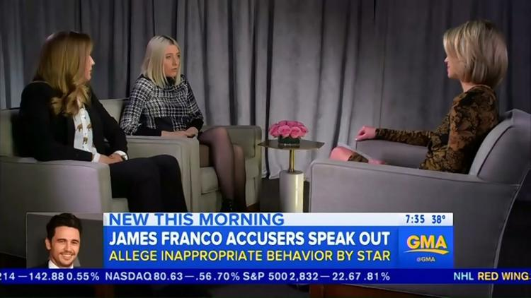 Franco accuser says he's 'absolutely not a Harvey Weinstein' 10